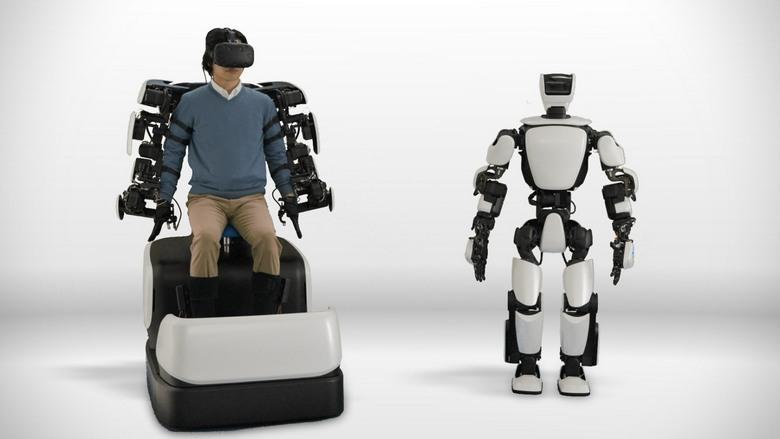 Toyota представила робота-гуманоида T-HR3
