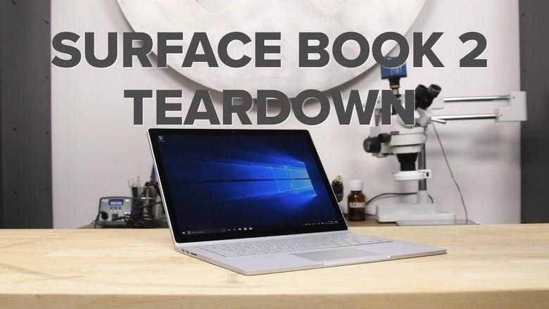 Ноутбук Surface Book 2 получил iFixit один балл