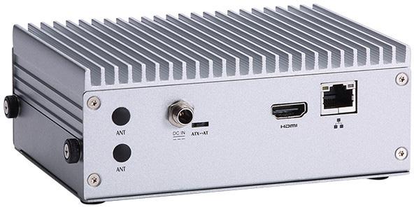 Основой мини-компьютера Axiomtek eBOX560-512-FL служит процессор Intel Core i5-7300U или Celeron 3965U с пассивным охлаждением