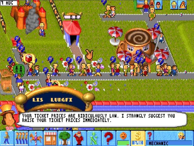 От Elite до Rollercoaster Tycoon: история игр-симуляторов, часть 2 - 36