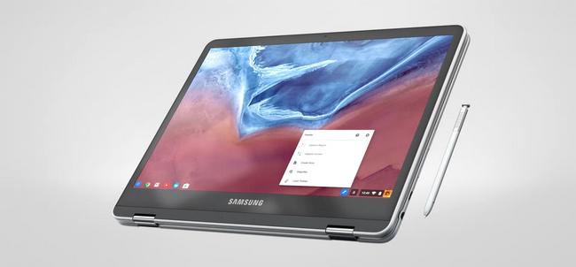 Следующий хромбук Samsung может получить отсоединяемую клавиатуру