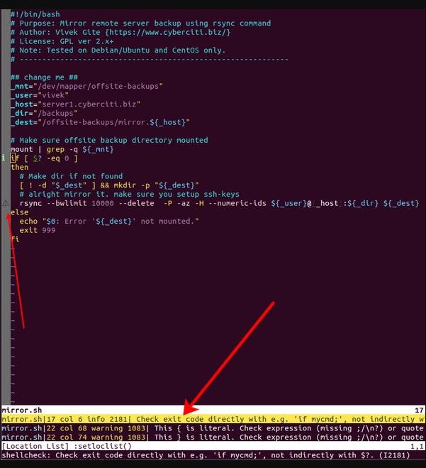 Статический анализатор ShellCheck и улучшение качества скриптов в Linux и Unix - 3