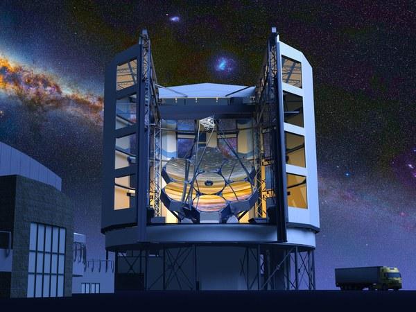 Удивительные инженерные решения для крупнейшего оптического телескопа мира - 5