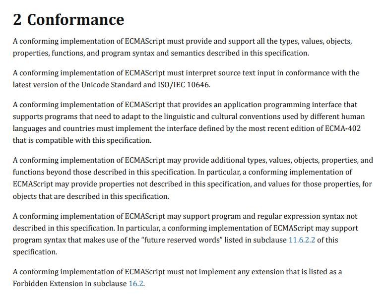 Чем отличаются JavaScript и ECMAScript? - 6
