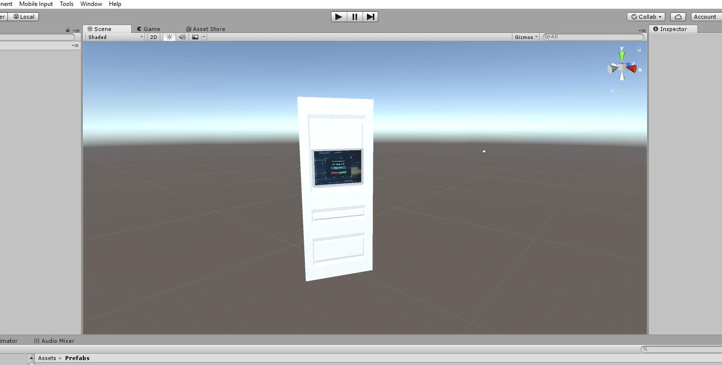 Как сделать простую трехмерную игрушку на Unity за два дня - 4