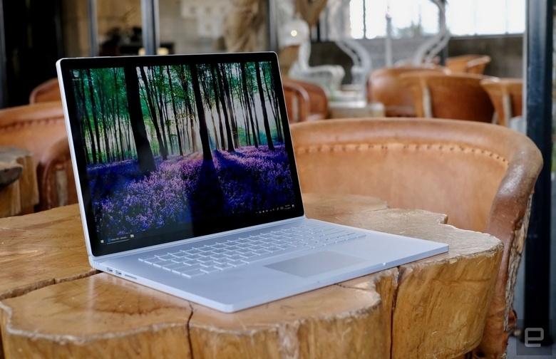 Ноутбук Microsoft Surface Book 2 не подходит в качестве геймерского решения