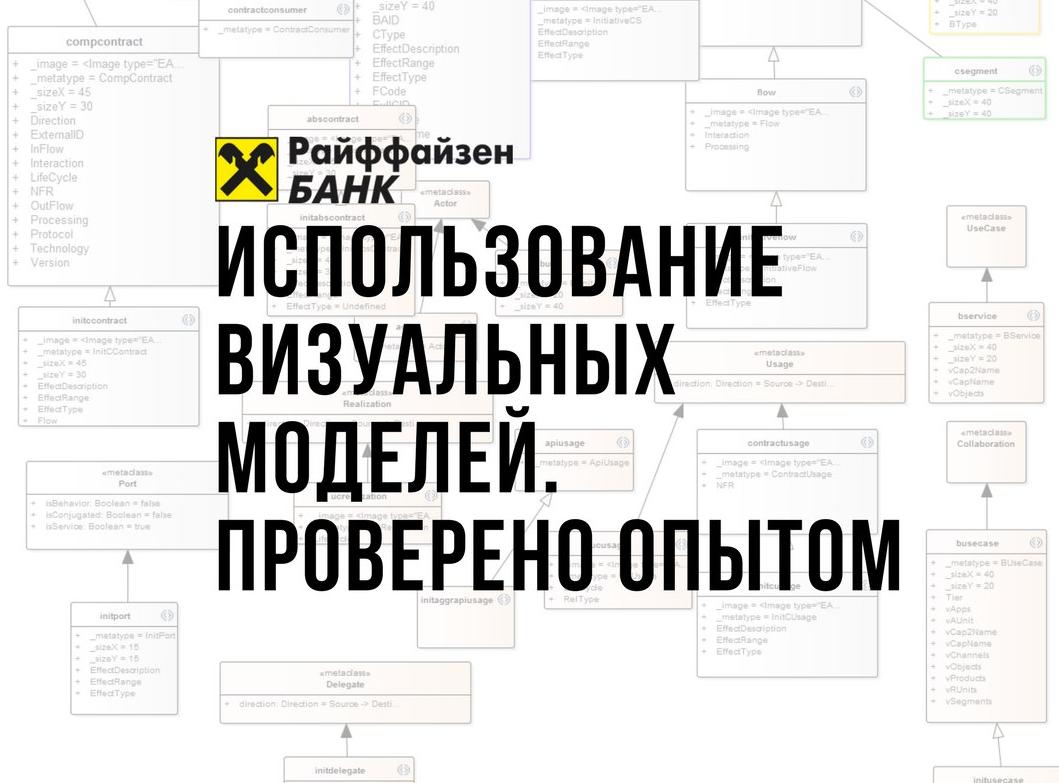 Отчет c мини-конференции Использование визуальных моделей в ИТ. Проверено опытом - 1