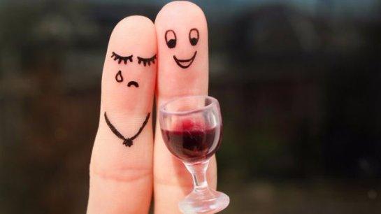 Различные типы алкогольных напитков формируют разное настроение