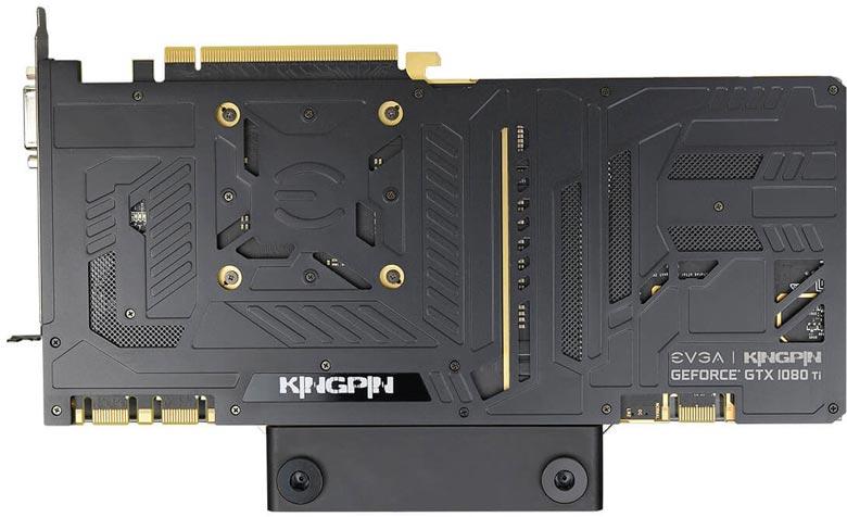 3D-карта EVGA GeForce GTX 1080 Ti K|NGP|N Hydro Copper оснащена водоблоком и разогнана производителем - 2