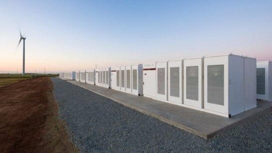 Tesla завершает установку мега-аккумулятора в Австралии