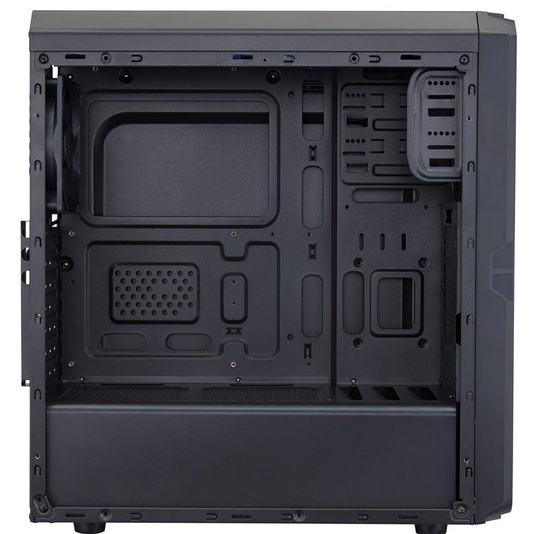 Модель FSP CMT110 отличается от CMT120 прозрачной боковой панелью
