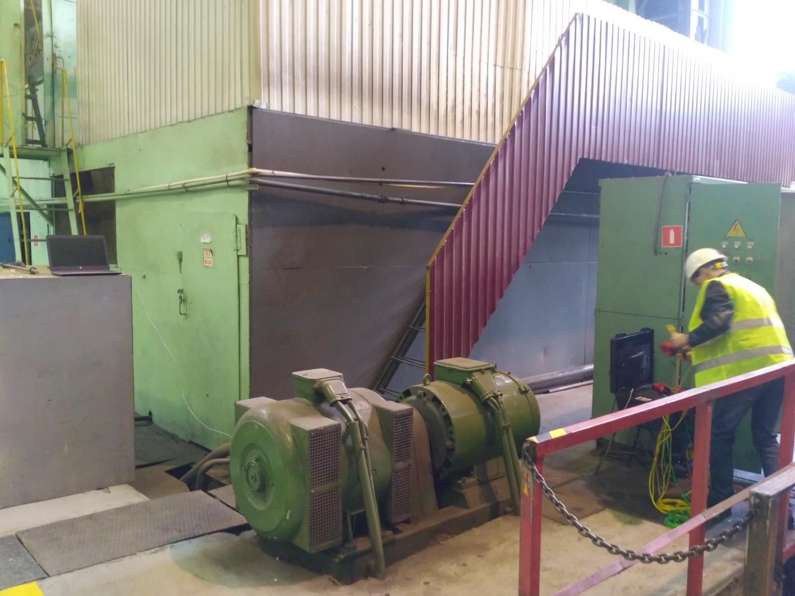 Диагностика промышленных электродвигателей и генераторов по спектру потребляемого тока и предотвращение аварий - 2