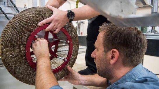 NASA изобретает колеса для космических велосипедов