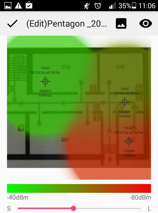 Немного об анализаторах Wi-Fi покрытия на Android - 15