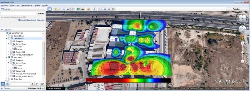 Немного об анализаторах Wi-Fi покрытия на Android - 2