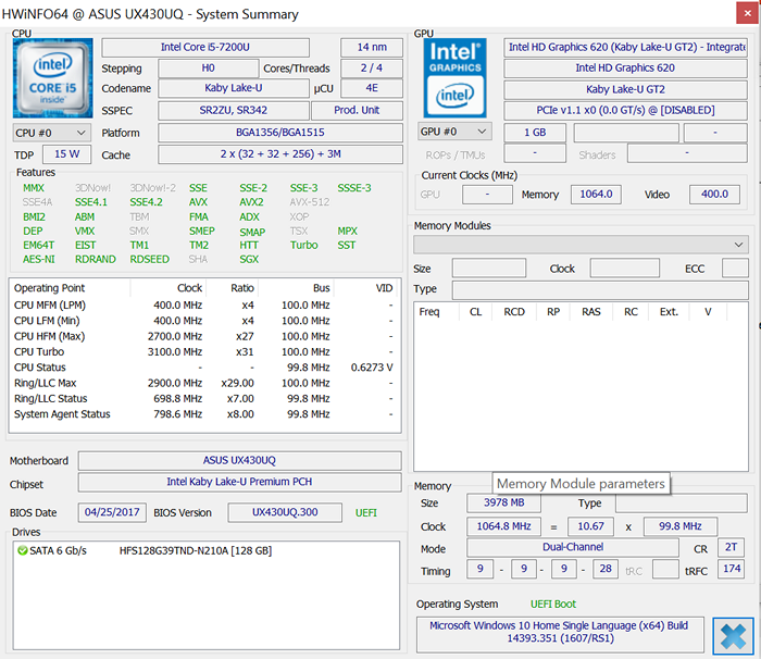 Обзор ноутбука ASUS ZenBook UX3400UQ - 18