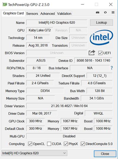 Обзор ноутбука ASUS ZenBook UX3400UQ - 23