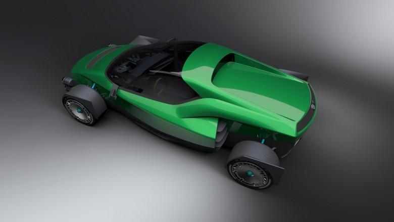 Электромобиль Xing Mobility Miss R будет динамичнее Tesla Roadster