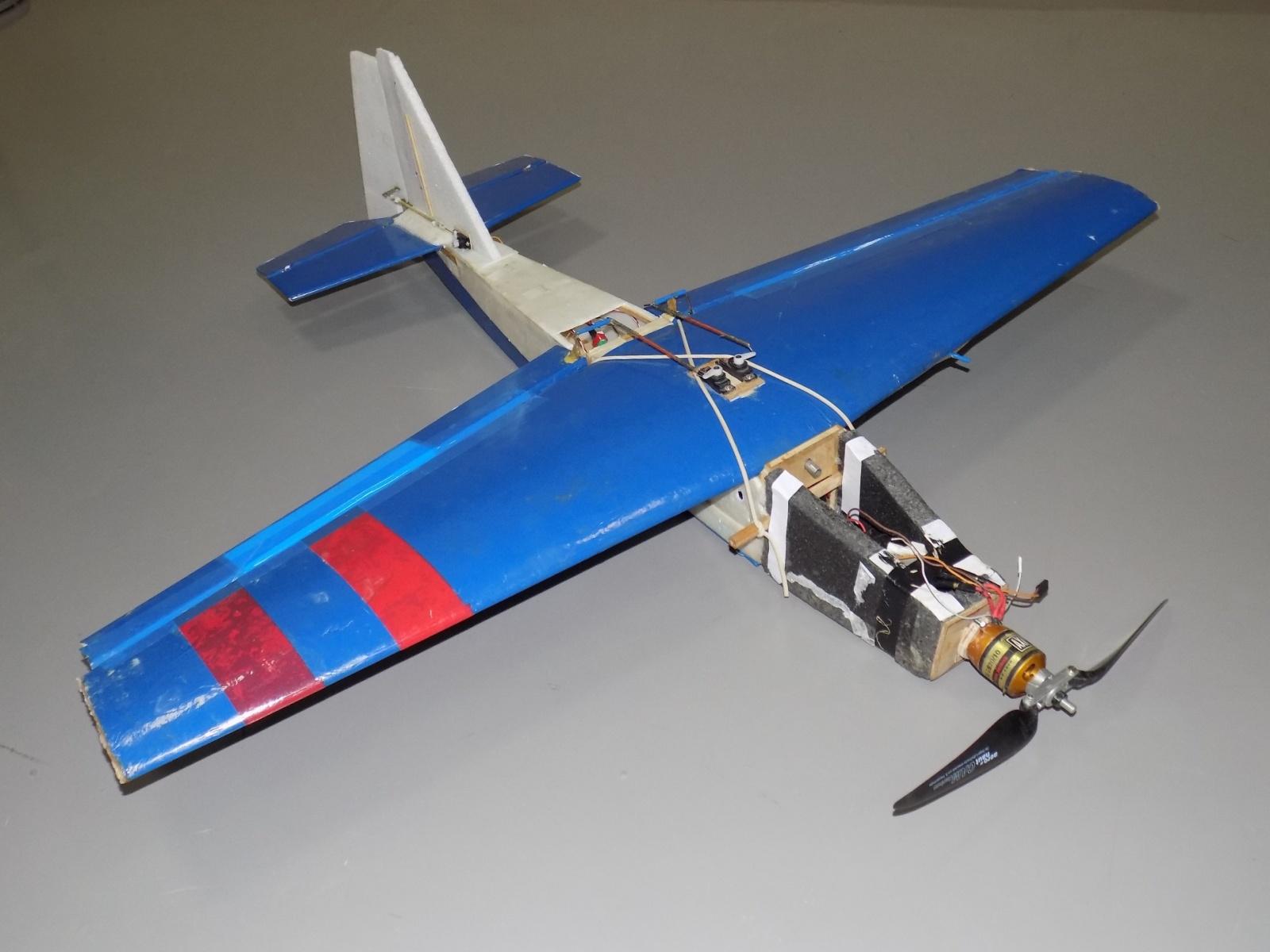 Пилотажный ДПЛА. Часть 2. Простейшая модель движения для выполнения бочки - 52