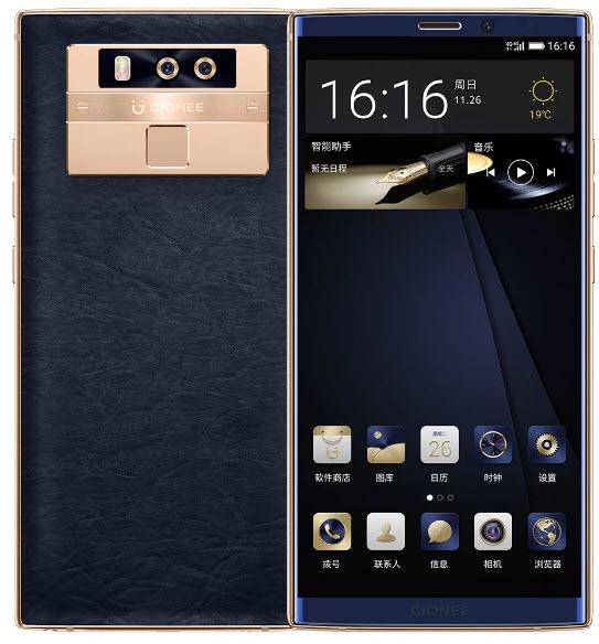 Премиальный смартфон Gionee M7 Plus оценен в $670