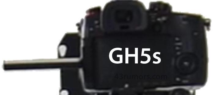 Судя по первому изображению, камера Panasonic DC-GH5s будет очень похожа на DC-GH5