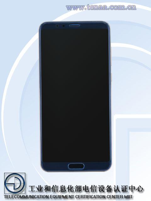 Изображения и характеристики смартфона Honor V10 появились в TENAA