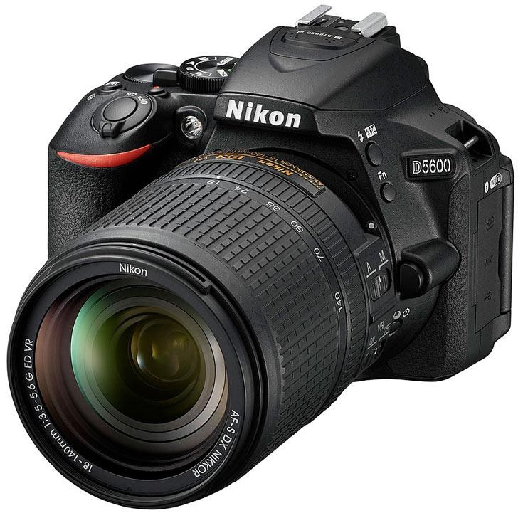Камера Nikon D5600 поддерживает SnapBridge