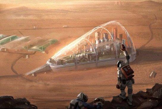 На Марсе хотят построить город-лес