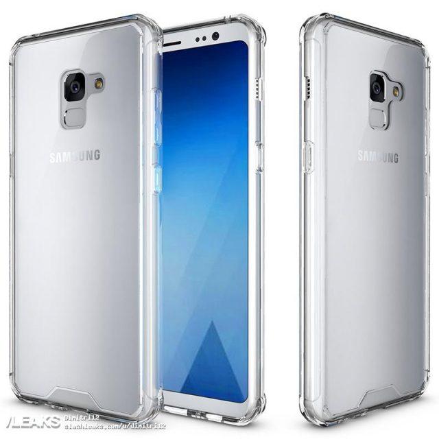 Производитель чехлов опубликовал изображения смартфона Samsung Galaxy A8 Plus (2018)