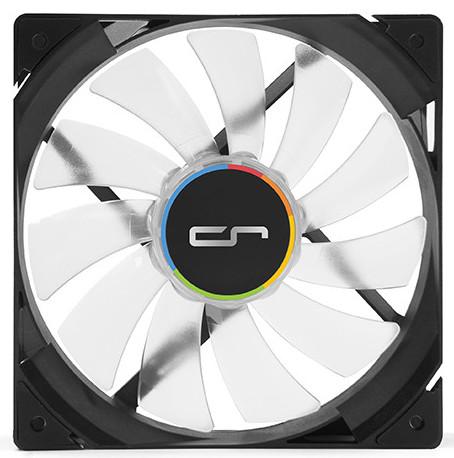 Продажи вентиляторов QF120 LED начнутся в декабре по цене 20 евро