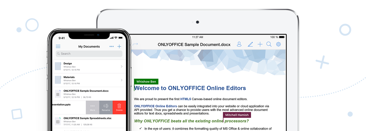 «ONLYOFFICE Документы» для iOS: как изменилось приложение за год - 1