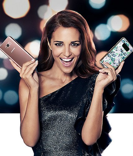 Смартфон Samsung SMARTgirl Galaxy S8+ поставляется с оригинальным чехлом