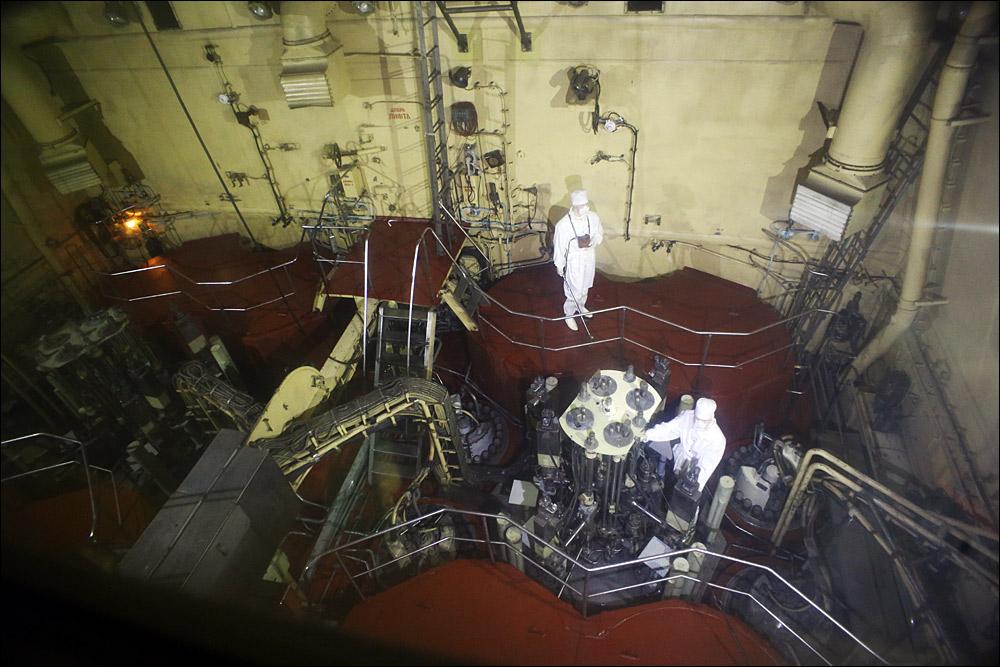 Атомоход Ленин — почти как космический корабль, только ледокол - 11