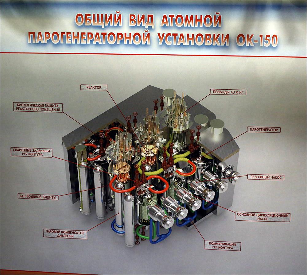 Атомоход Ленин — почти как космический корабль, только ледокол - 12
