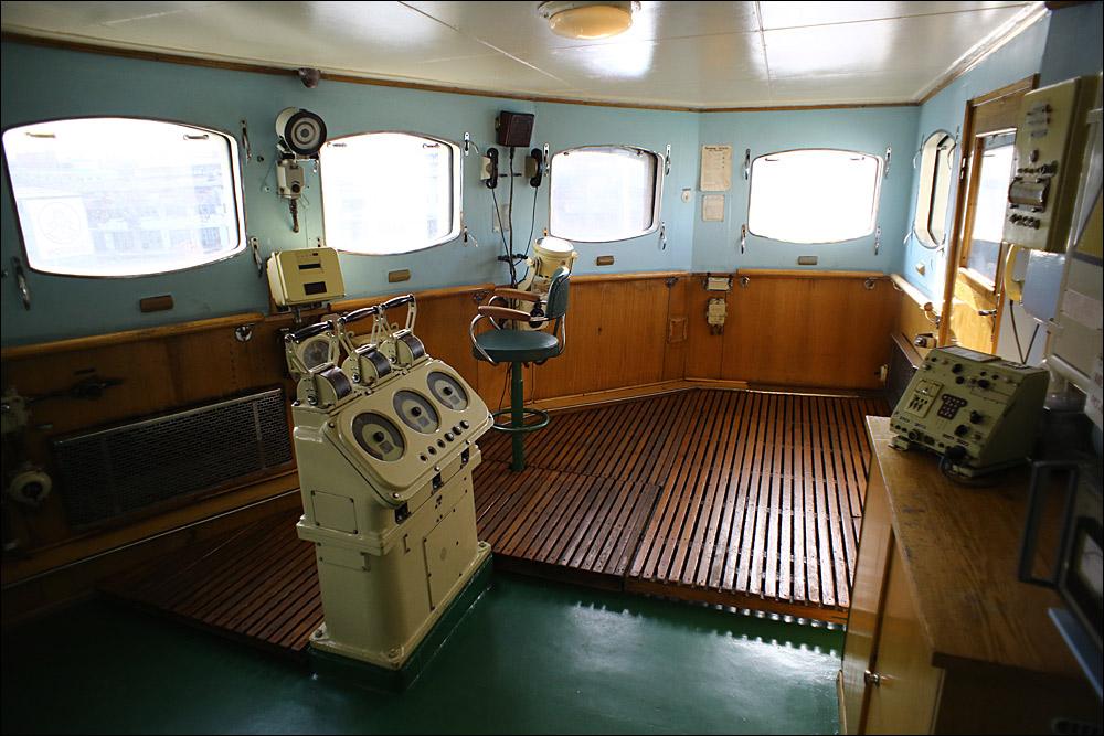 Атомоход Ленин — почти как космический корабль, только ледокол - 17
