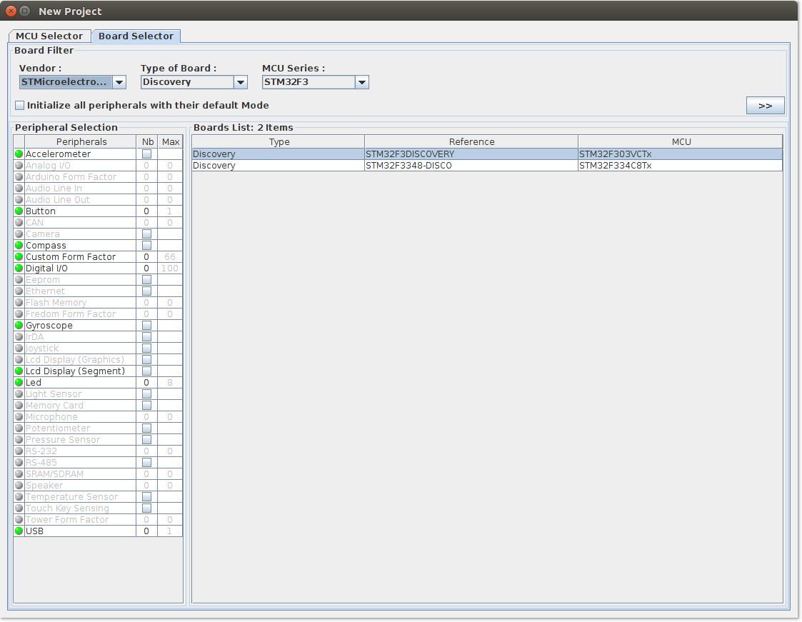 Настройка Sublime Text 3, SW4 и STM32CubeMX для разработки STM32 под Linux - 6