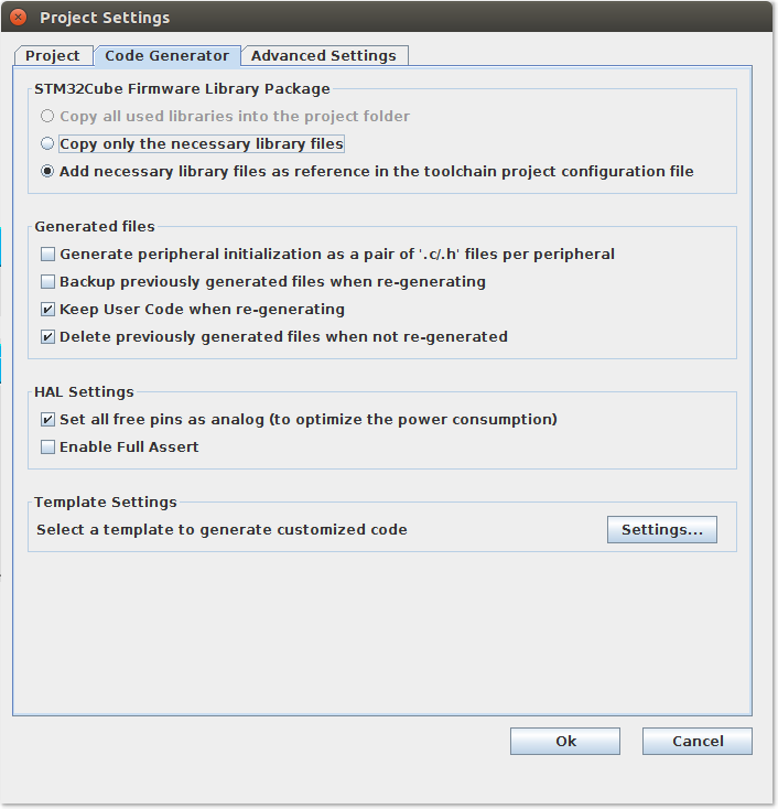 Настройка Sublime Text 3, SW4 и STM32CubeMX для разработки STM32 под Linux - 9