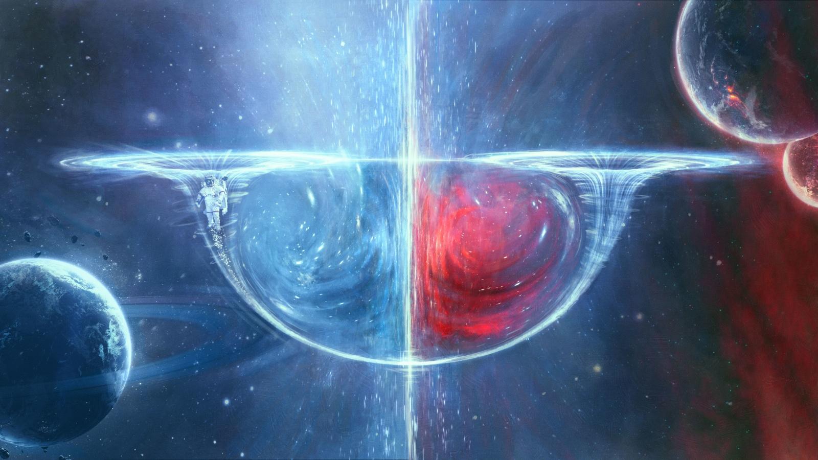 Новая червоточина позволяет информации убегать из чёрных дыр - 1