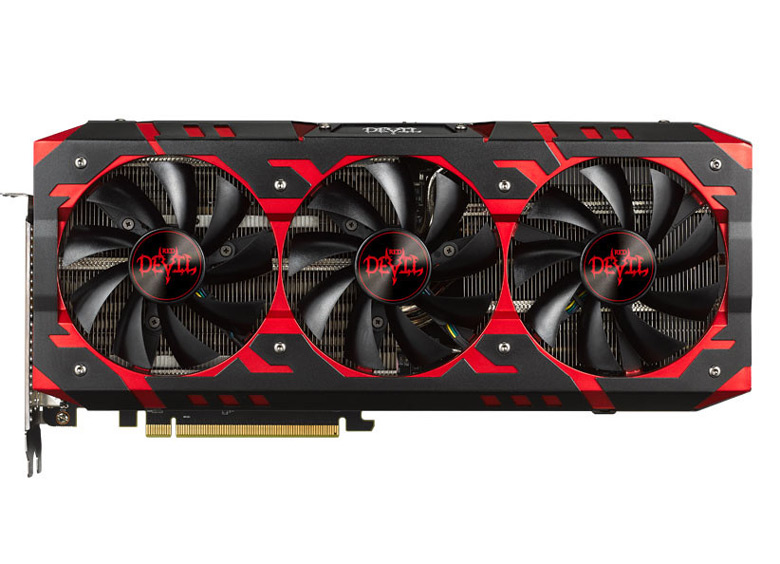 Серия включает модели PowerColor Red Devil RX Vega 64 и PowerColor Red Devil RX Vega 56