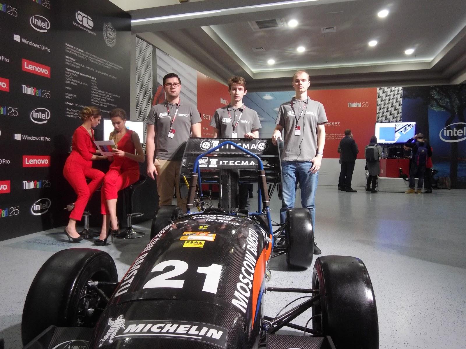 Bauman Racing Team и «Формула студент»: как Lenovo ThinkServer помогает побеждать в европейских гонках - 6
