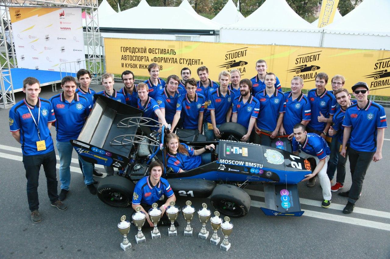 Bauman Racing Team и «Формула студент»: как Lenovo ThinkServer помогает побеждать в европейских гонках - 9