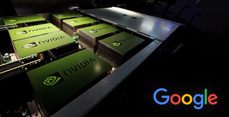 Google хочет заполучить специалистов по ИИ компании Nvidia