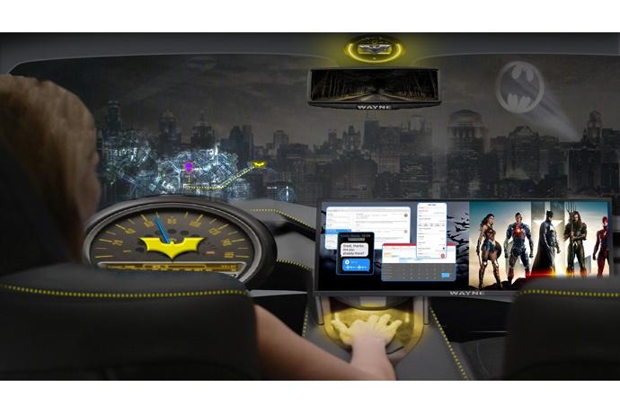 Intel и Warner Bros. разработали концепцию беспилотного авто, как развлекательной платформы