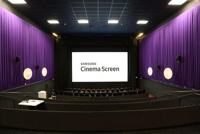 Через три года Samsung хочет видеть свои светодиодные экраны в каждом десятом кинотеатре