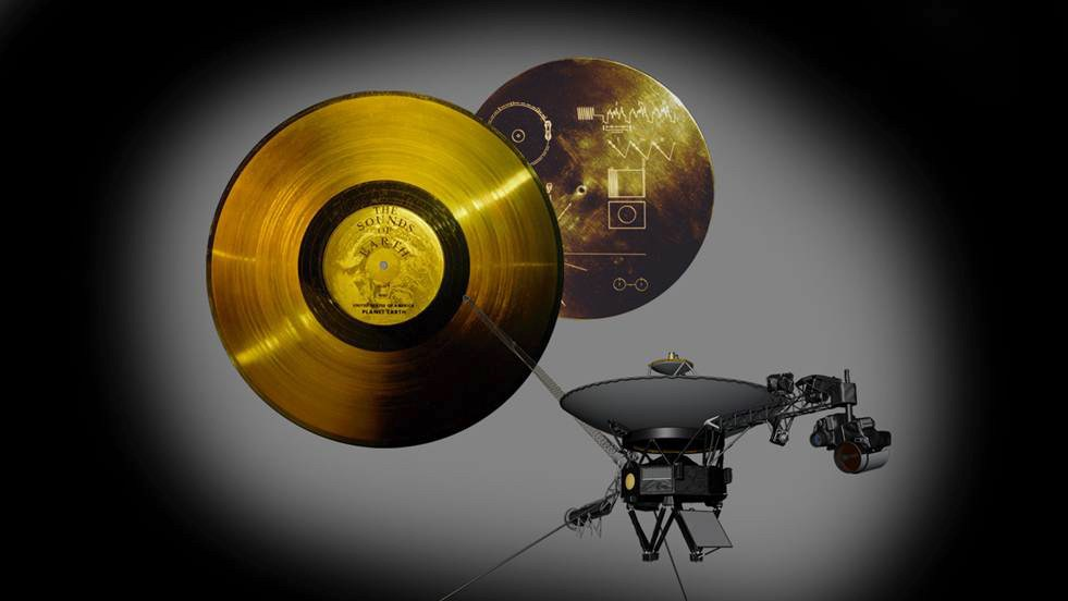 НАСА выпустило копии записей с золотых пластинок «Вояджера» - 1