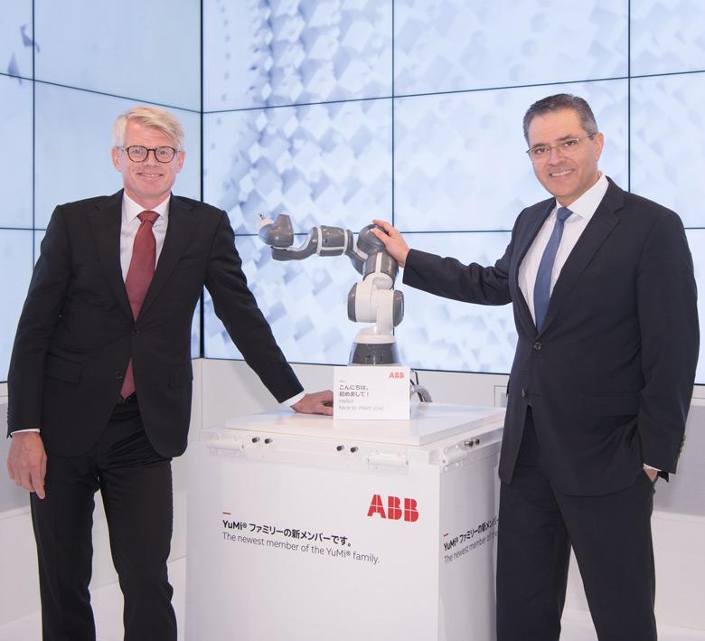 Однорукий робот-манипулятор пополнил семейство ABB YuMi