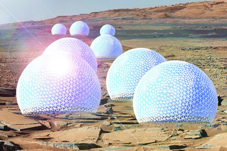 Проект поселения на Марсе, колеса для нового марсохода, картошка и черви в марсианской почве - 2