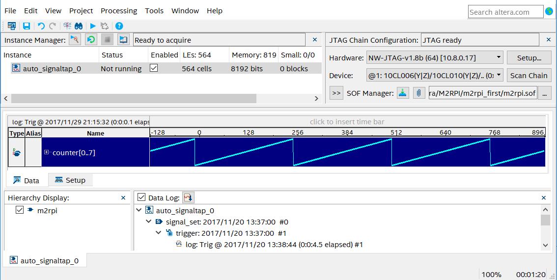Сетевой JTAG программатор для Altera Quartus Prime из Raspberry Pi3 - 4