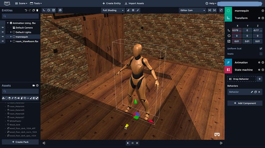 Amazon представил платформу для 3D-, VR- и AR-разработки - 8