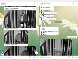Ещё один Telegram-бот для видеонаблюдения - 1